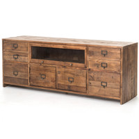 Hughes Reclaimed Pine Media Console