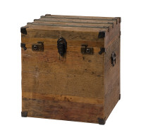 Repro Box -Trunk Side Table