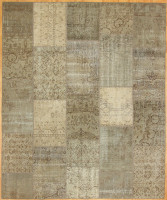 Turkish Patchwork Rugs-Vintage Atmosphere