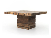 "Angora 58"" Square Dining Table"
