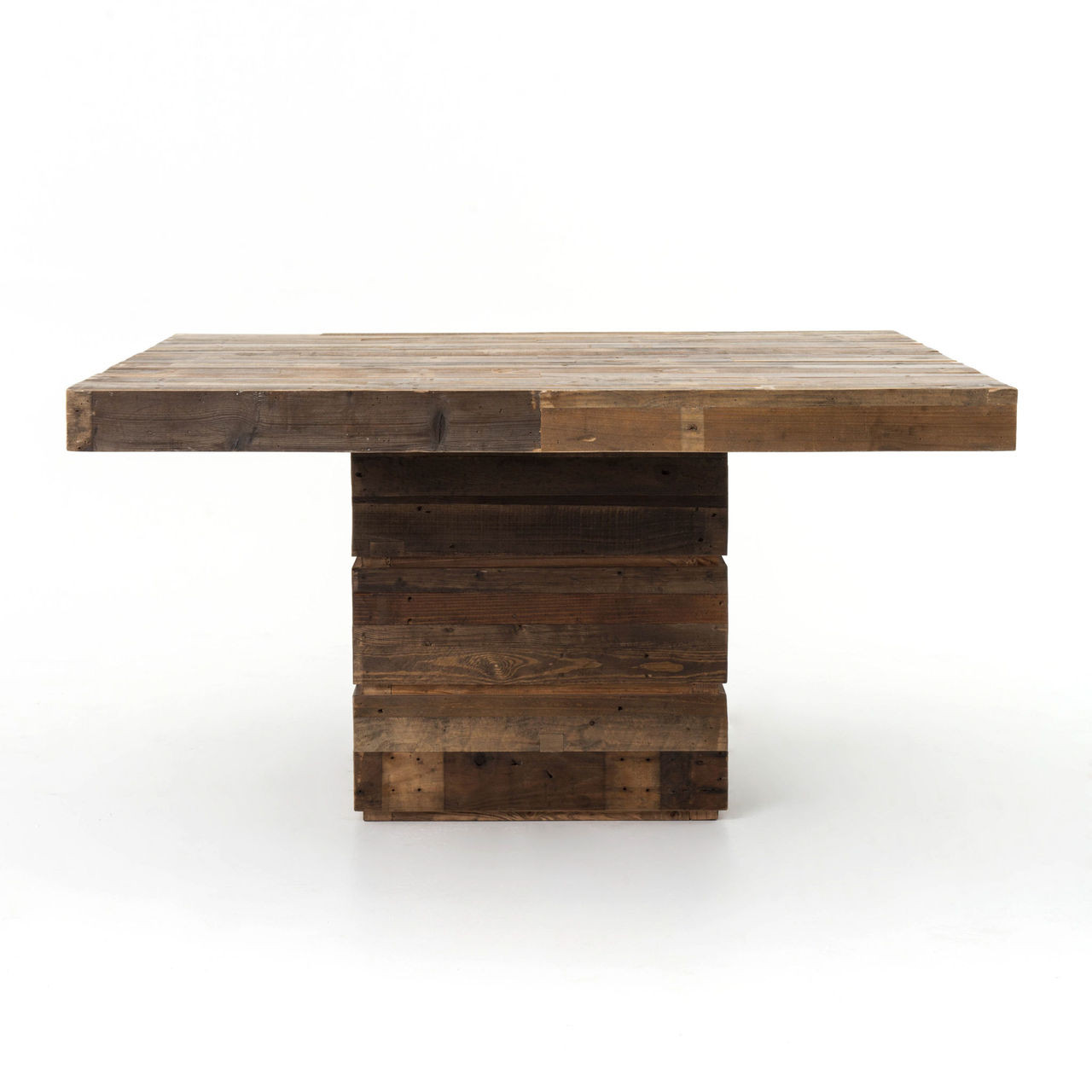 Angora 58  Square Dining TableEco Friendly Dining Room Furniture   Organic Dining Tables  . Reclaimed Wood Square Dining Room Table. Home Design Ideas
