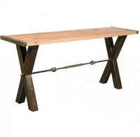 Benchwright Reclaimed Wood Console Table