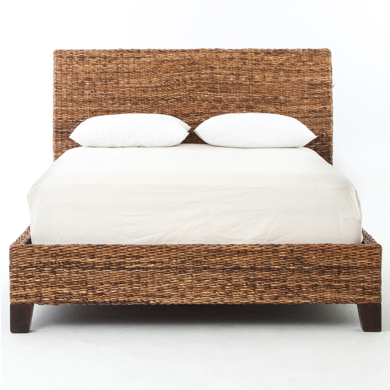 will chairs for sale lanai banana leaf woven wicker queen platform bed zin home 22156 | JLAN 50Q FRT 1 57226.1465608499.1280.1280