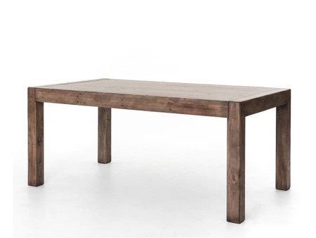 Home FURNITURE Dining Room Tables Parsons Dining Table 71 39 39 Sundried