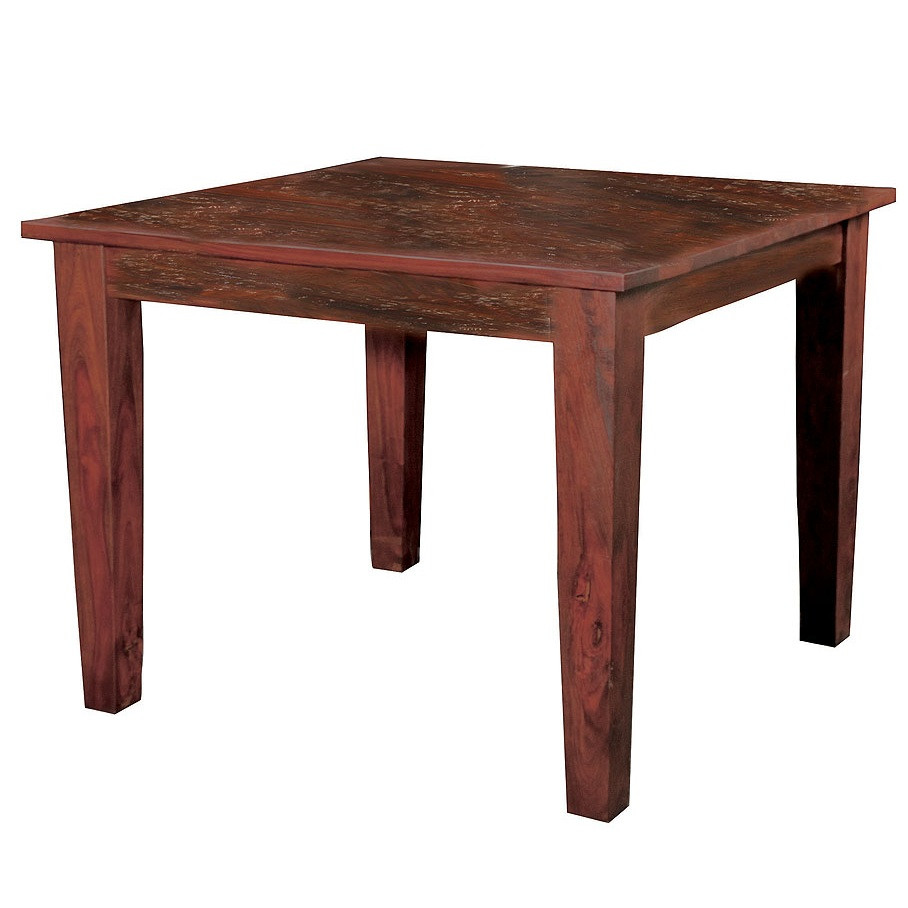 Square wood dining table - Image 1