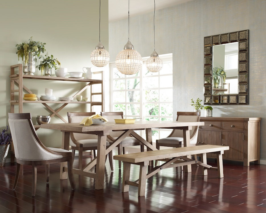 Farmhouse Dining Room Ideas: Farmhouse Dining Table 78""