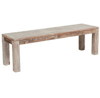 Parson Style Hampton Reclaimed Teak Dining Bench 70""
