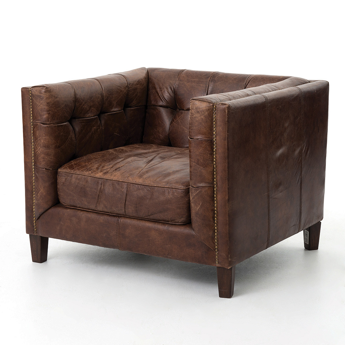 Living Room Modern Armchair Sale modern sofas leather upholstered sofa sale zin home abbott vintage cigar tufted club chair