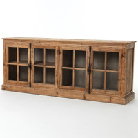 Monaco Reclaimed Wood Buffet Sideboard 87""