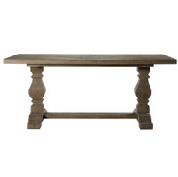 Rectangular Dining Room Tables Reclaimed And Salvaged Wood - Trestle dining room table