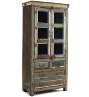 Shabby Chic Hutch Cabinet