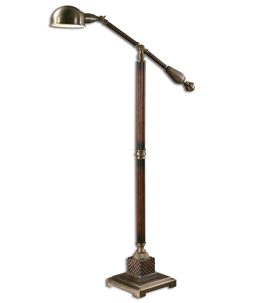 dalton pharmacy task floor lamp  zin home - task floor lamps