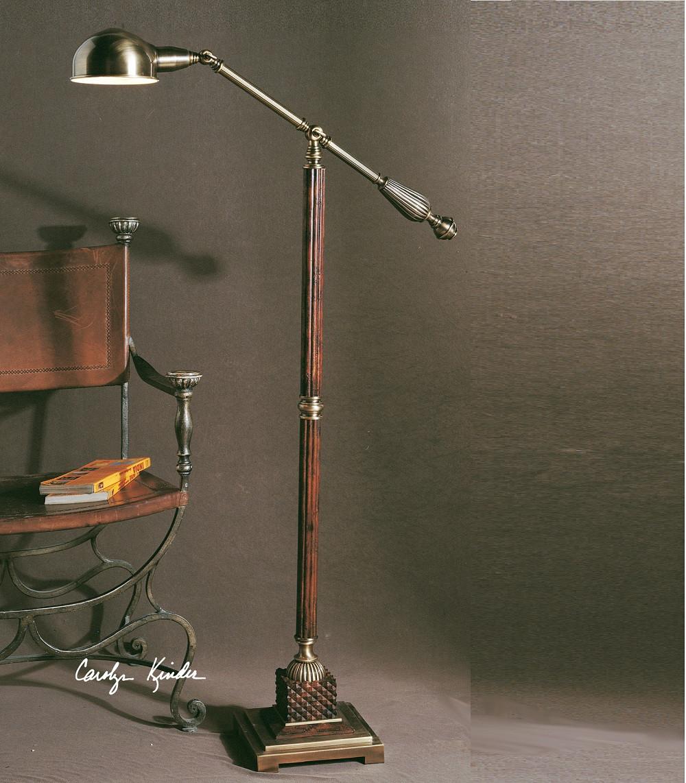 dalton pharmacy task floor lamp  zin home - task floor lamps task floor lamp