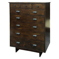 Angora 8 Drawer Chest-Acorn