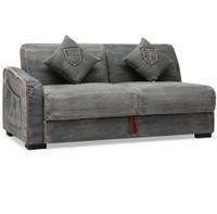 Colins Denim Sleeper Sectional Sofa