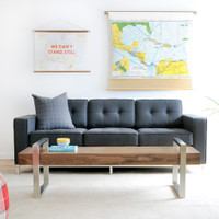 Gus Modern Jane Sofa URBAN TWEED INK