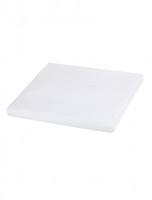 Mayfair White Fitted Sheet