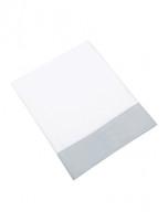 Mayfair Iced Blue Flat Sheet