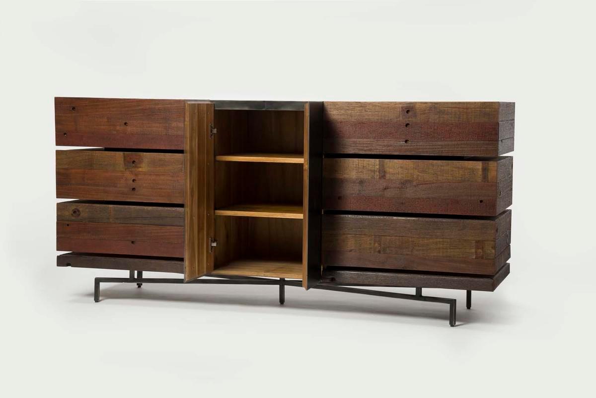 Wood And Metal Dresser BestDressers 2017