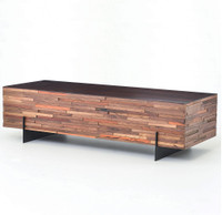 Landon Reclaimed Mixed Wood Rectangular Coffee Table