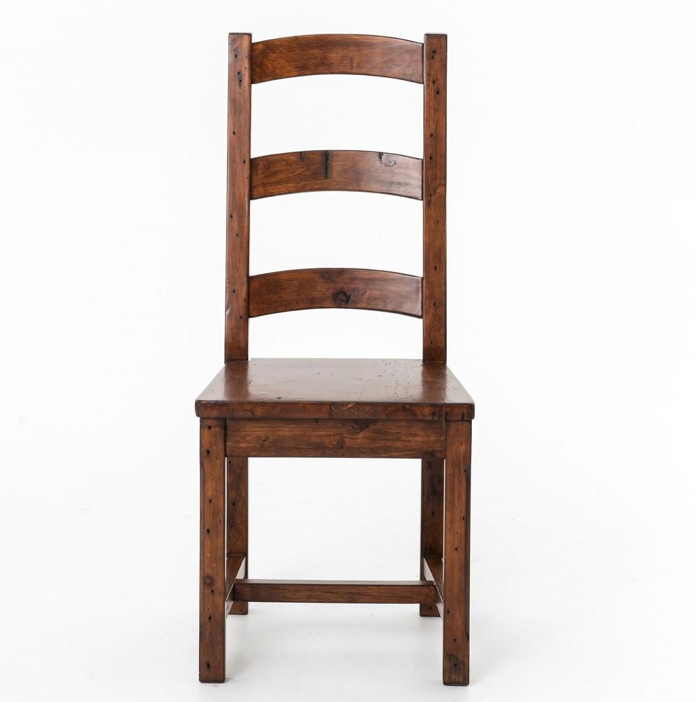 wood dining room chair | Coastal Rustic Reclaimed Wood Dining Room Chair | Zin Home