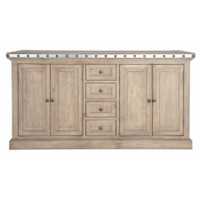 Maddox Warner Sideboard with Antique Zinc