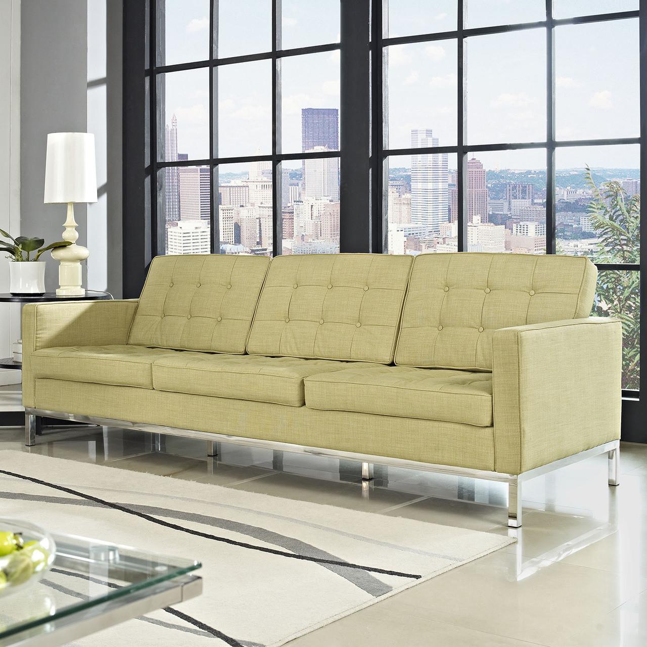 florence style wool loft sofa zin home. Black Bedroom Furniture Sets. Home Design Ideas