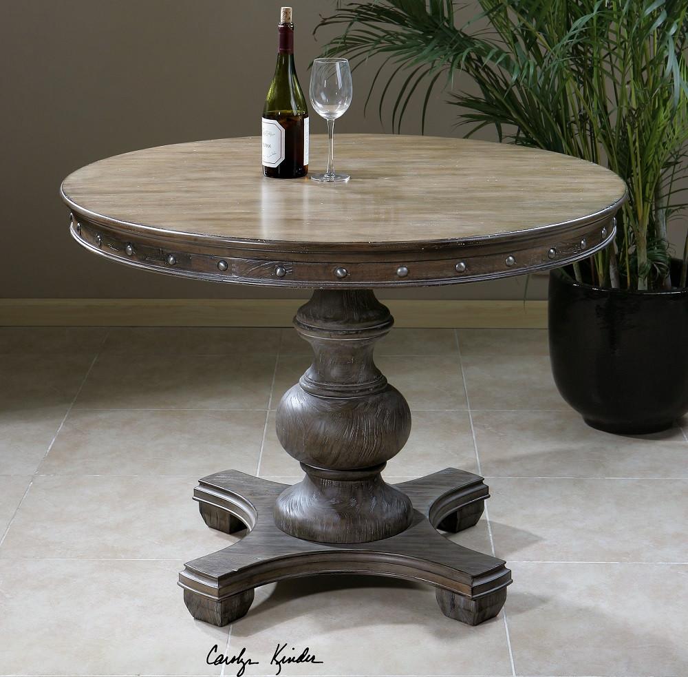Sylvana Round Pedestal Kitchen Table 42 Quot Zin Home