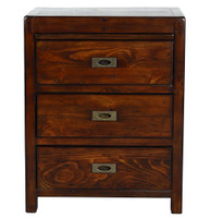 Parsons 3 Drawer Nightstand