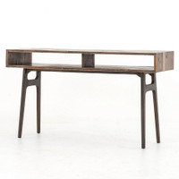 Wesson Reclaimed Oak Wood Console Table