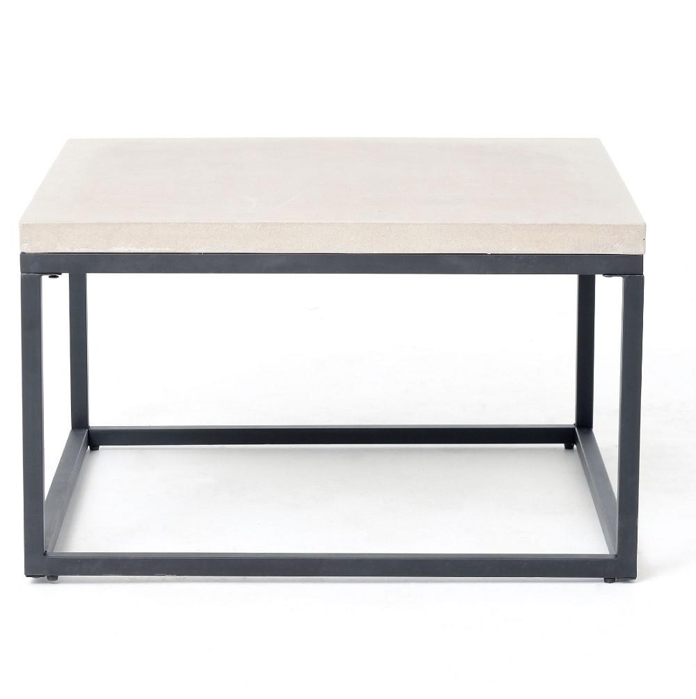 Concrete Dining Table H H Concrete Top Tables Images 100  : MasonryConcreteBoxFrameSquareCoffeeTables55233141643010812801280 from favefaves.com size 1000 x 1004 jpeg 99kB