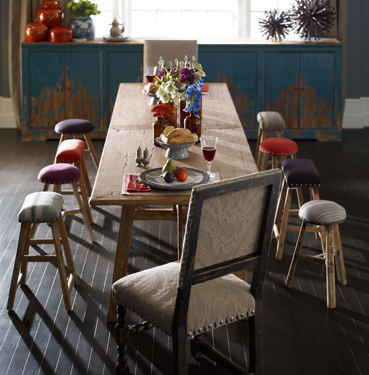 Walnut dining room table -  Van Thiel Solid Walnut Dining Room Table 121