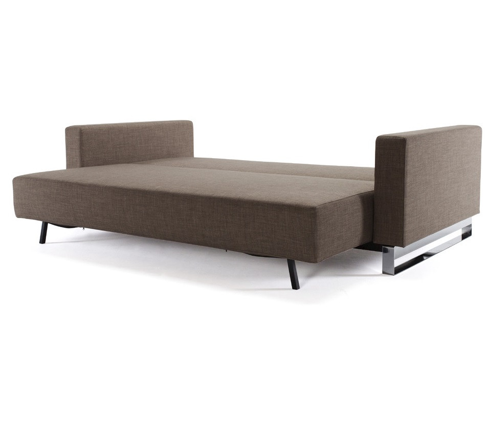 Modern cassius sleek excess sleeper sofa bed lounger zin for Sleek sofas small spaces