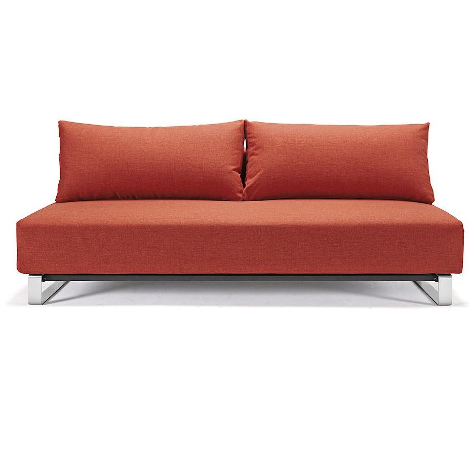 Supremax sleek excess convertible sofa bed zin home for Sleek sofa bed