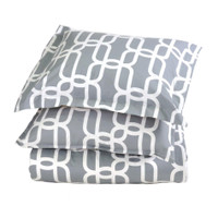 Link To Link Glacier King Size Duvet Set
