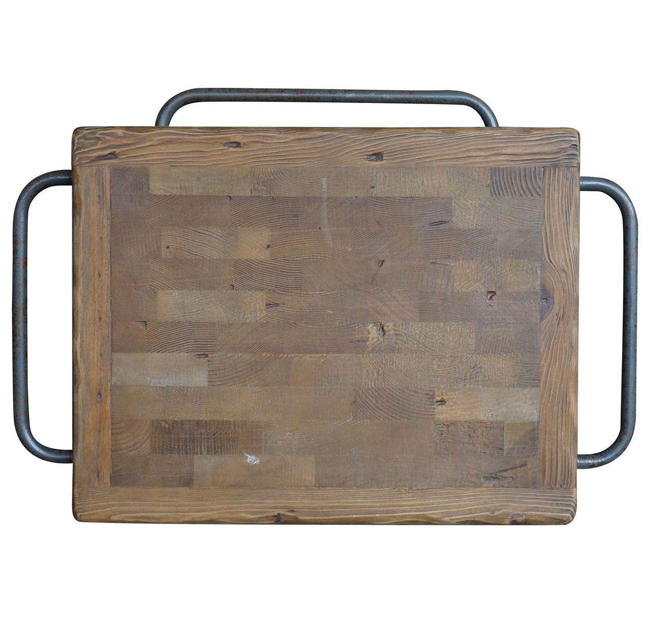 Urban Industrial Age Kitchen Warehouse Cart Island By: Industrial Reclaimed Wood Rolling Kitchen Island Cart