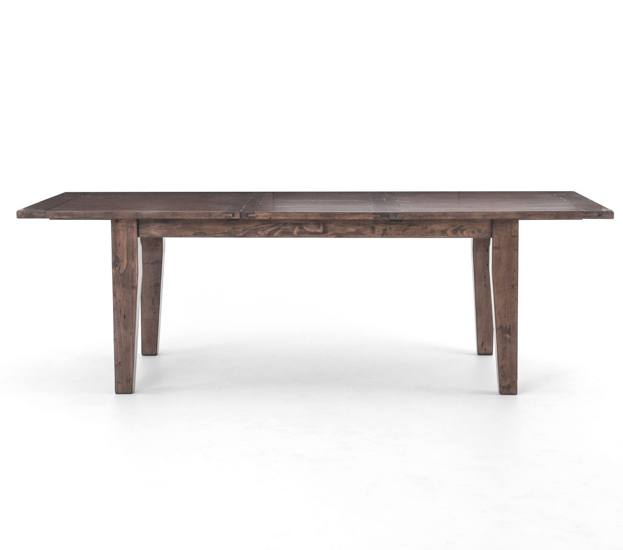 coastal reclaimed wood extension dining table 96 zin home. Black Bedroom Furniture Sets. Home Design Ideas