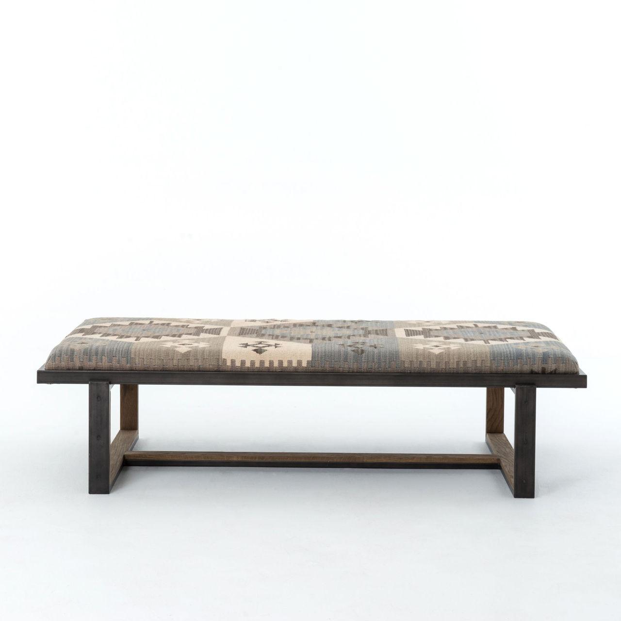 Kilim Ottoman Bench