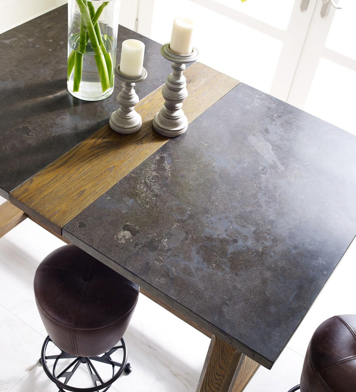 Bluestone + Wood Foundry Farmhouse Counter Pub Table | Zin Home