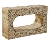 Creekwood Rustic Console Table