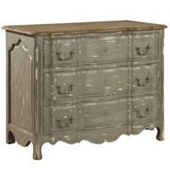 Delacroix Vintage French Country 3 Drawer Chest