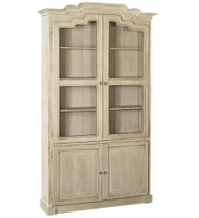 Hargitay French Deco Solid Wood Kitchen Hutch Cabinet