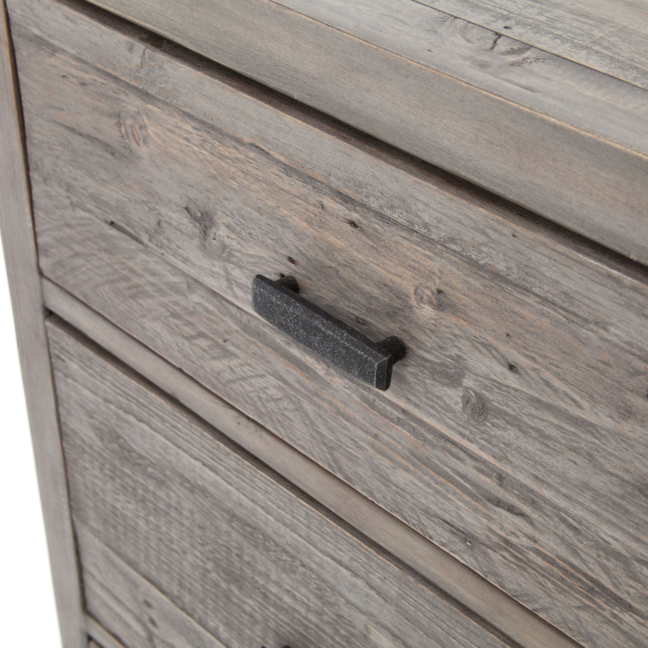 ... Caminito Grey Reclaimed Wood Chest of Drawers ... - Caminito Grey Reclaimed Wood 6 Drawer Tall Chest Zin Home