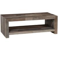 Omni Angora Storm Reclaimed Wood Coffee Table