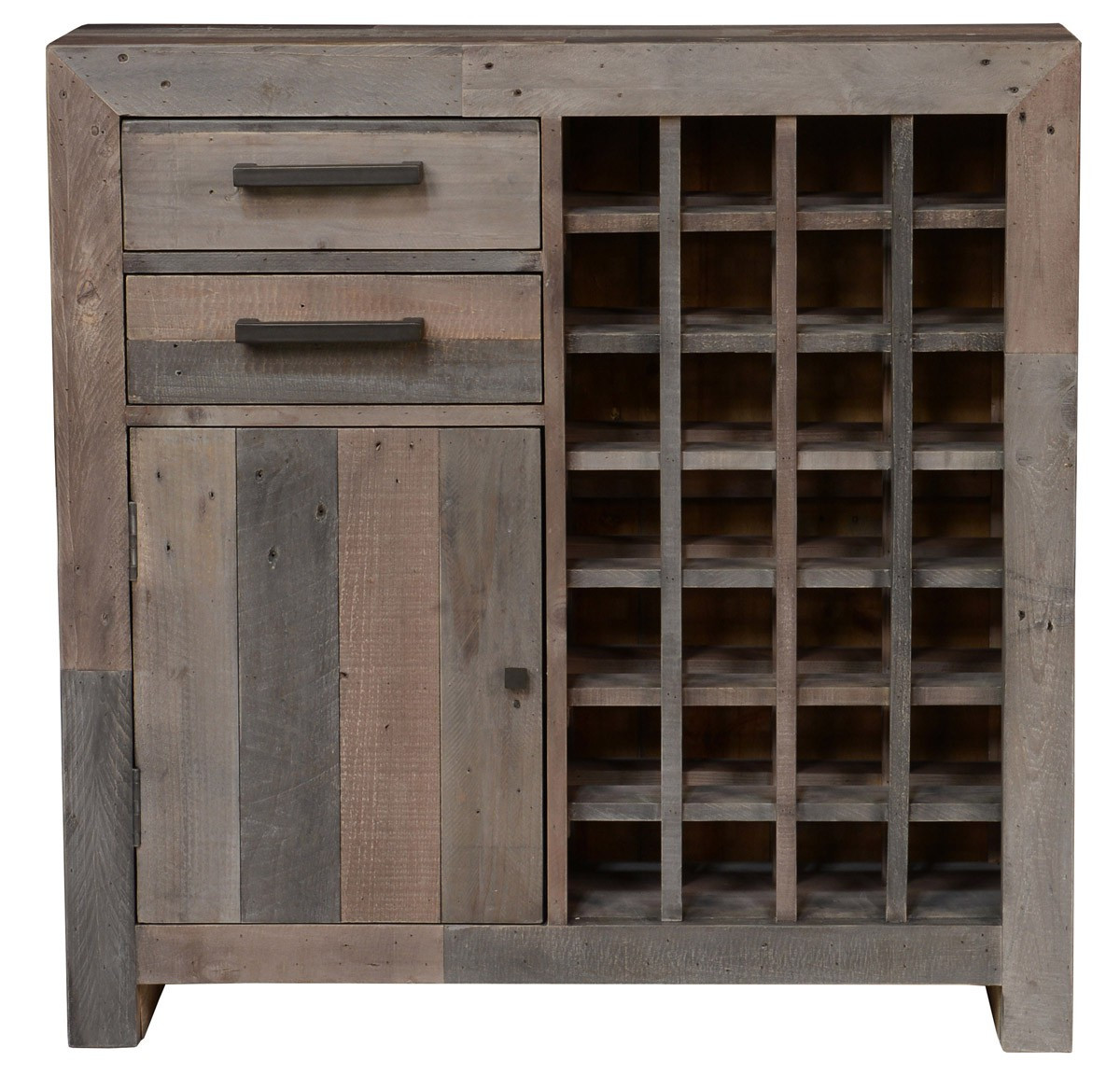 Reclaimed Wood Wine Cabinet Angora Storm Reclaimed Wood Wine Cabinet Zin Home