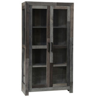 Angora Storm Reclaimed Wood Curio Cabinet