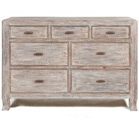 Aria Reclaimed Wood 7-Drawer Dresser