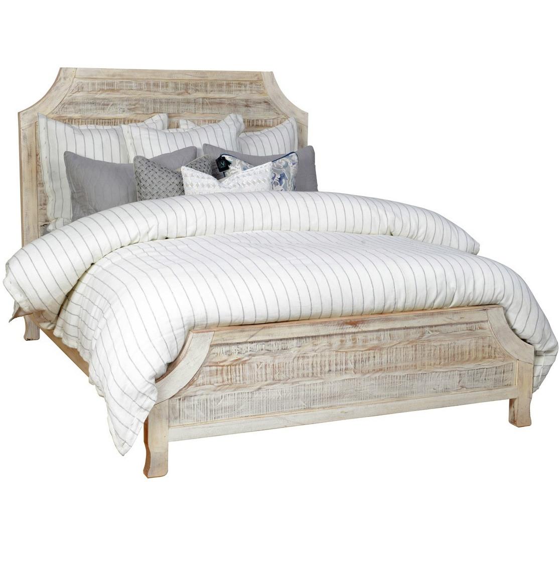aria reclaimed wood eastern king bed frame zin home. Black Bedroom Furniture Sets. Home Design Ideas