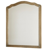 Devon French Oak Bedroom Mirror