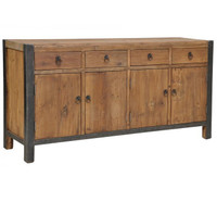 Jaden 4 Drawer 4 Door Buffet Sideboard